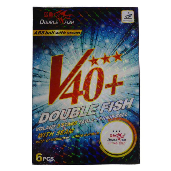 Double Fish 3 Star Balls Six Pack