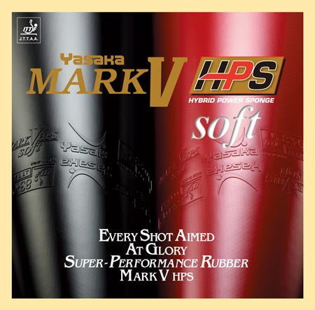 Yasaka Mark V HPS Soft-Rubber-TT Sports