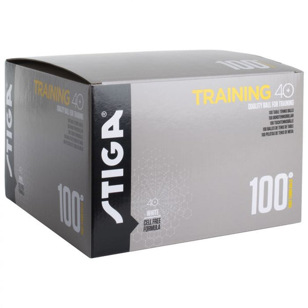 Stiga Training Ball 40+ 100 Pack White