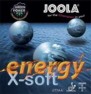 Joola Energy X-Soft-Rubber-TT Sports