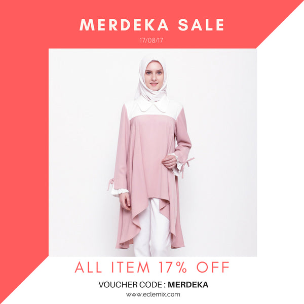 Merdeka Sale 17% OFF ALL ITEM