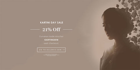 Kartini Day Sale 2018 , Diskon 21% OFF