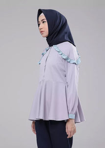 Cersei Top in Grey - eclemix