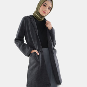 Graffy Jacket Dark Grey - eclemix