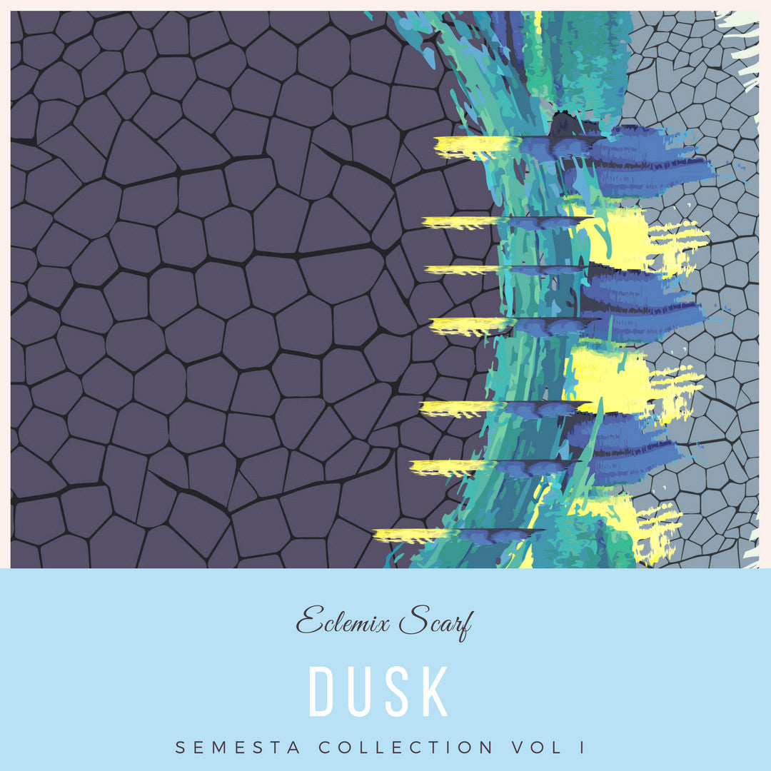 Semesta Collection : Dusk Square Printed Hijab