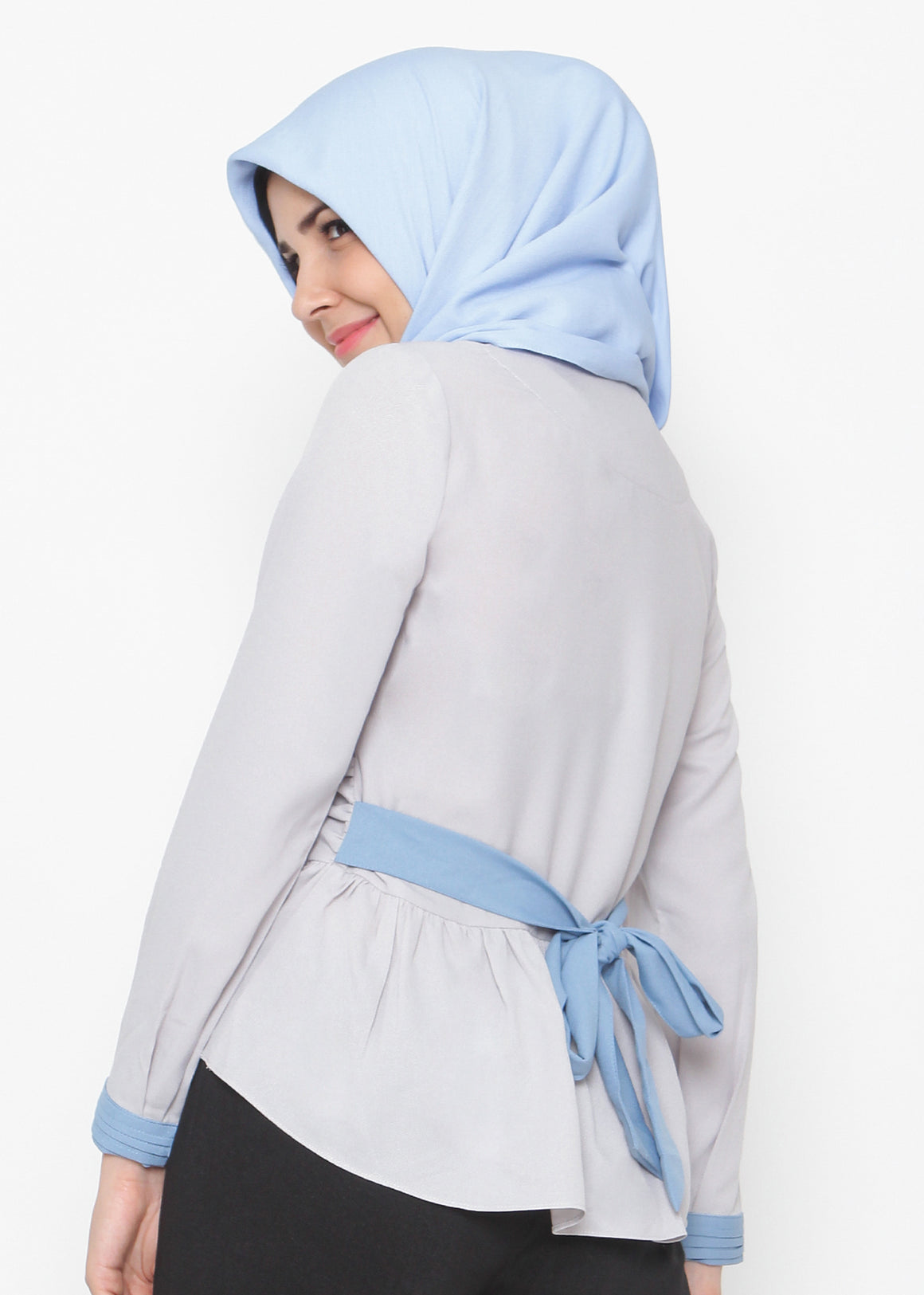Giong Top Grey