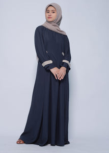 Maruya Dress Navy - eclemix