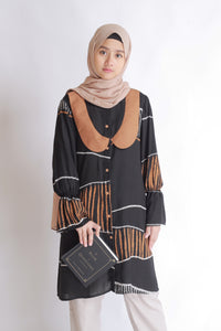 Carila Tunic (Abstract) - eclemix