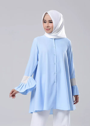 Monica Top Blue