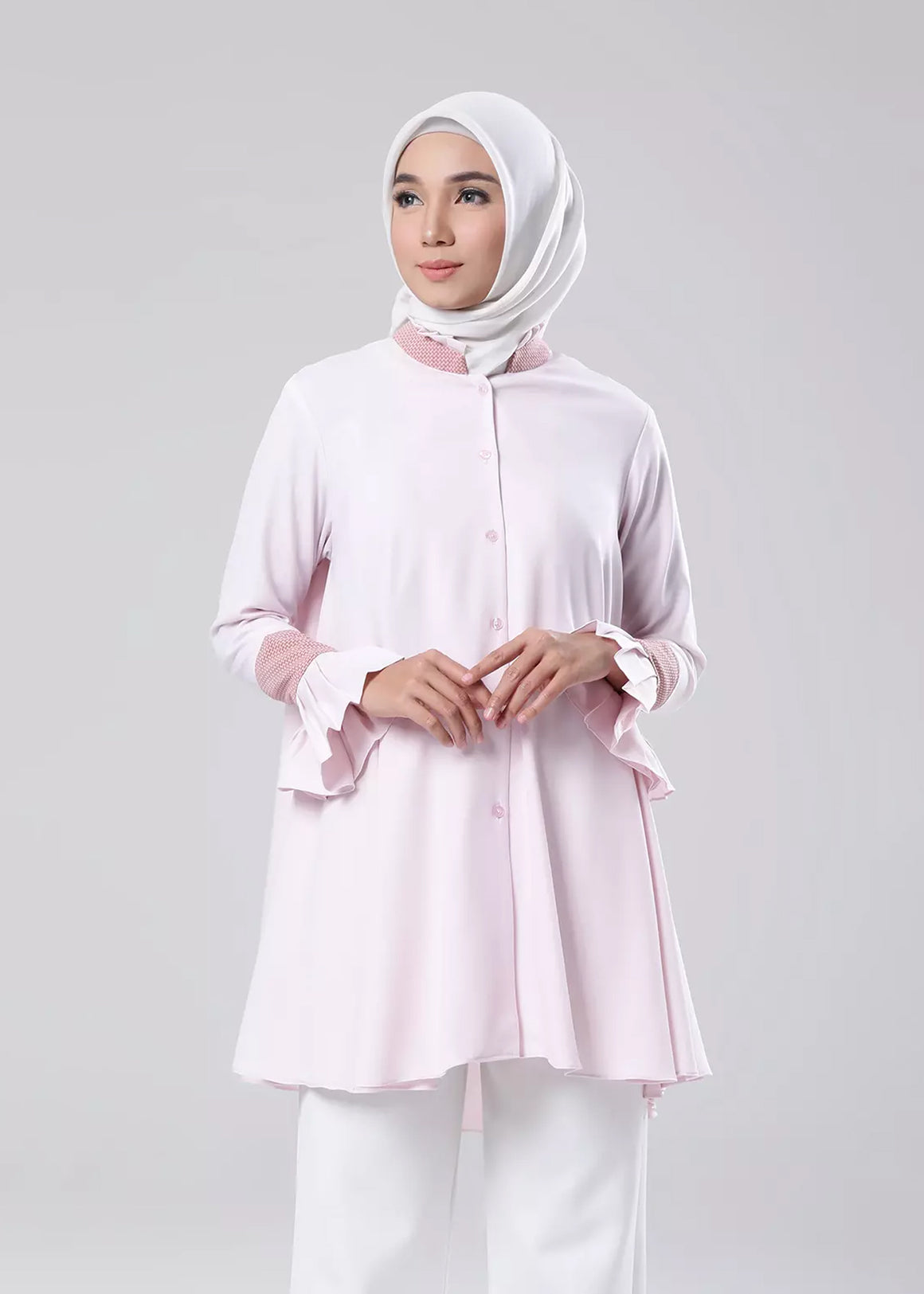 Monica Top Blush Pink