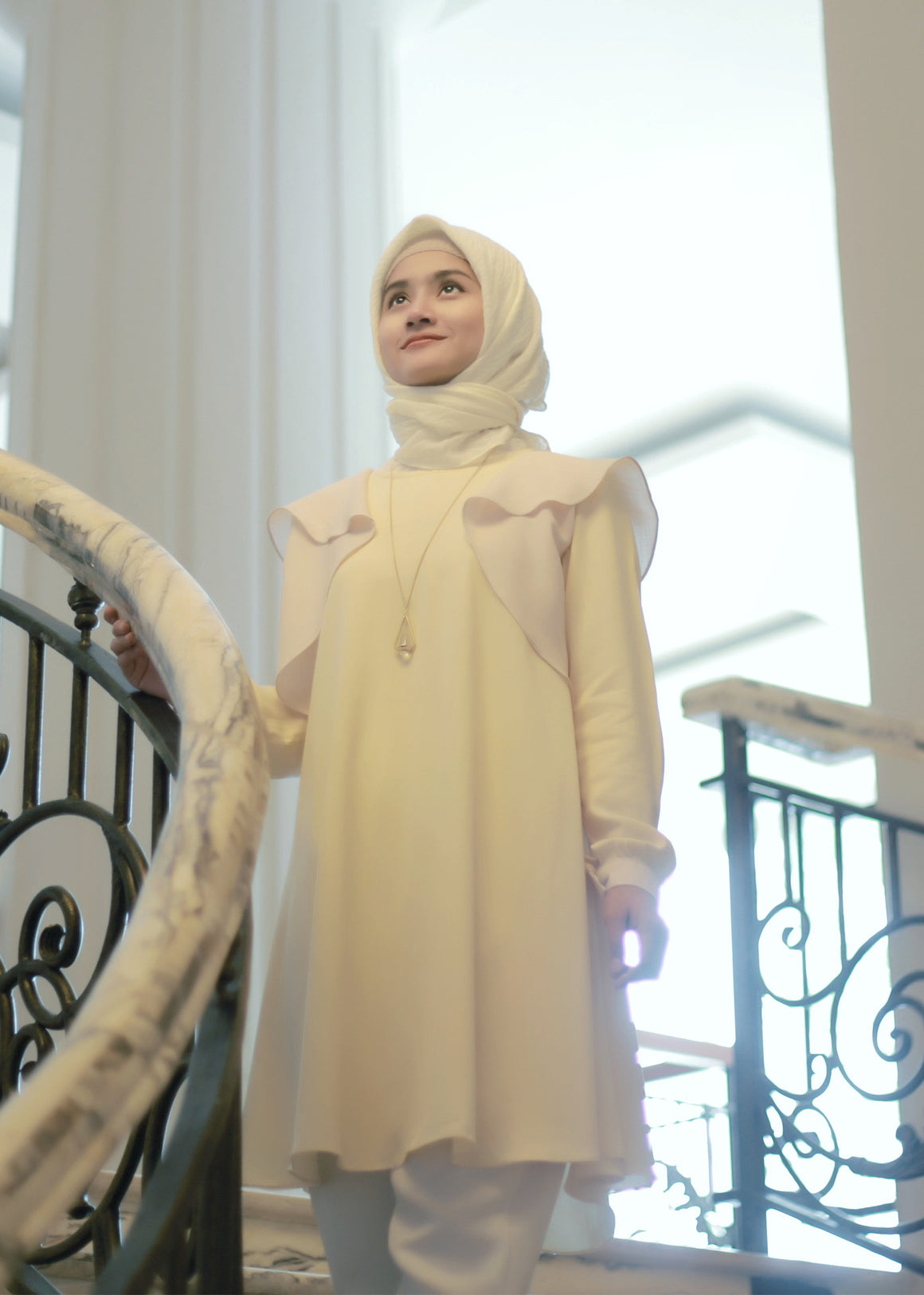 Safi Tunic in Ivory