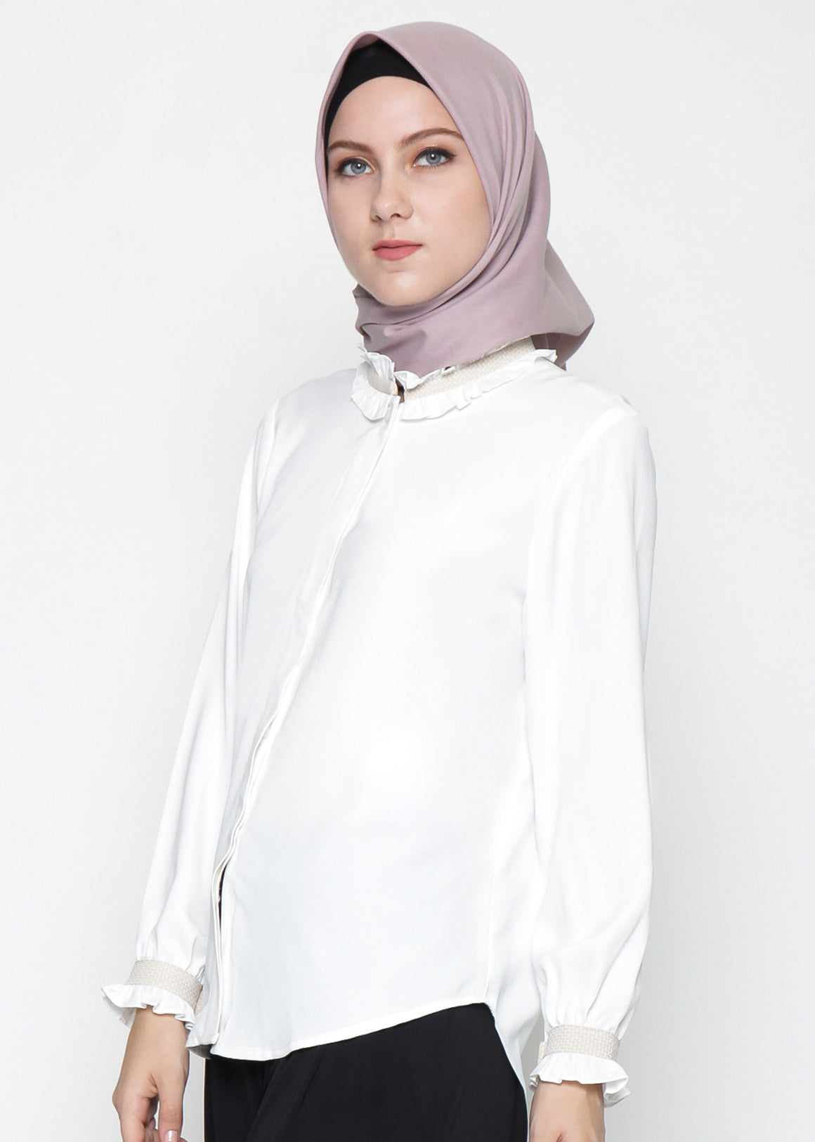 Sansa Top Cream - eclemix