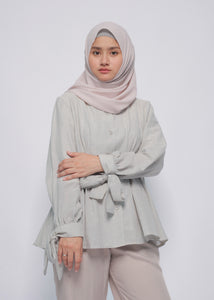 Shen Top Stripe Blue - eclemix