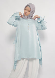 Tani Tunic in Blush Blue - eclemix