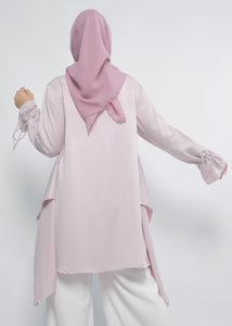 Tani Tunic in Blush Purple - eclemix