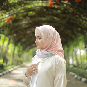 Semesta Collection : Terra Square Printed Hijab - eclemix