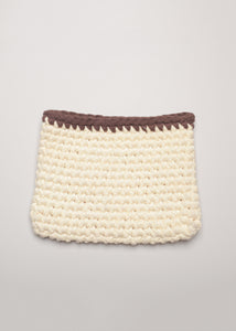 Tunggal Pouch Ivory Brown - eclemix