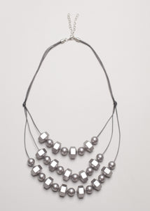 Trape Silver Necklace - eclemix