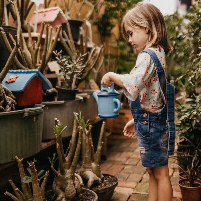 How gardening helps a child's development?