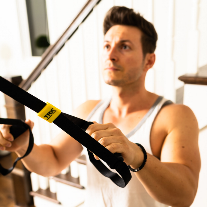 TRX Suspension Band is a great way to stay healthy and fit from home!