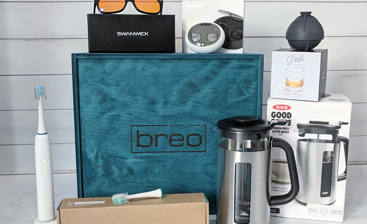 breo box best women's health and wellness subscription box