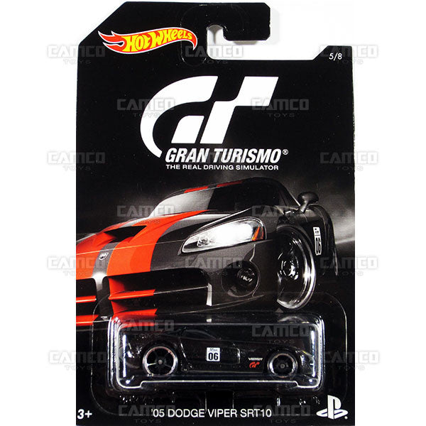 05 Dodge Viper SRT10 - from 2016 Hot Wheels GRAN TURISMO Case Assortment DJL12-999A by Mattel.