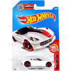 14 Corvette Stingray #107 White (Then and Now) - from 2016 Hot Wheels Basic Case Worldwide Assortment C4982 by Mattel.
