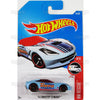 14 Corvette Stingray #20 Blue (HW Rescue) - from 2017 Hot Wheels basic mainline A case Worldwide assortment C4982 by Mattel.