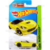 14 Corvette Stingray Convertible #216 yellow (HW Workshop) - 2015 Hot Wheels Basic Mainline C4982