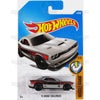 15 Dodge Challenger #48 silver Mopar Hellcat (Muscle Mania) - from 2017 Hot Wheels basic mainline B case Worldwide assortment C4982 by Mattel.