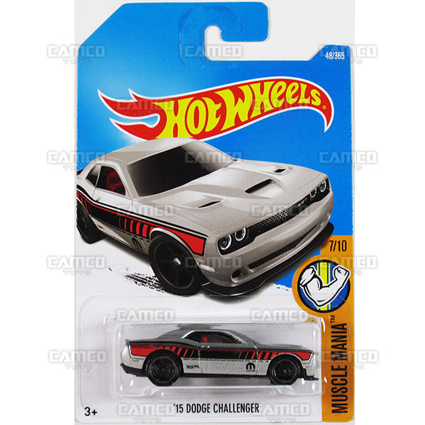 /'15 DODGE CHALLENGER HOT WHEELS 2017 MUSCLE MANIA 7//10