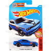 15 Dodge Challenger SRT #109 Blue (Then and Now) - from 2016 Hot Wheels Basic Case Worldwide Assortment C4982 by Mattel.