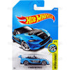 15 Mazda MX-5 Miata #177 blue (HW Speed Graphics) - 2017 Hot Wheels basic mainline H case Worldwide assortment C4982 by Mattel