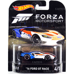 Ford Gt Race  Hot Wheels Retro Ent Forza Motorsport Camco Toys