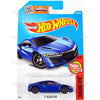 17 Acura NSX #108 Blue - 2016 Hot Wheels Basic Mainline H Case WorldWide Assortment C4982