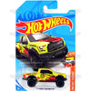 17 Ford F-150 Raptor #175 yellow - 2018 Hot Wheels Basic Mainline H Case Assortment C4982 by Mattel.