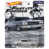 1970 Chevrolet Chevelle SS gray (1/4 Mile Muscle) - 2019 Hot Wheels Premium FAST & FURIOUS C Case Assortment GBW75-956C by Mattel.