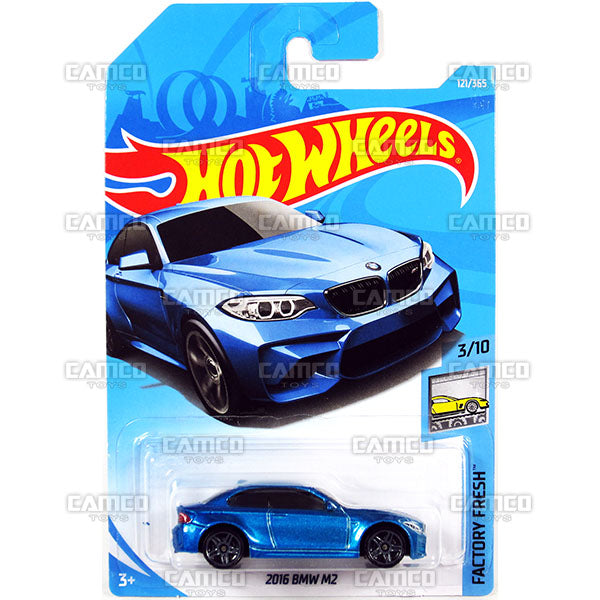 2016 BMW M2 #121 blue - 2018 Hot Wheels Basic G Case Assortment C4982
