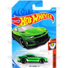 2017 Camaro ZL1 #188 green - 2018 Hot Wheels Basic Mainline H Case Assortment C4982 by Mattel.