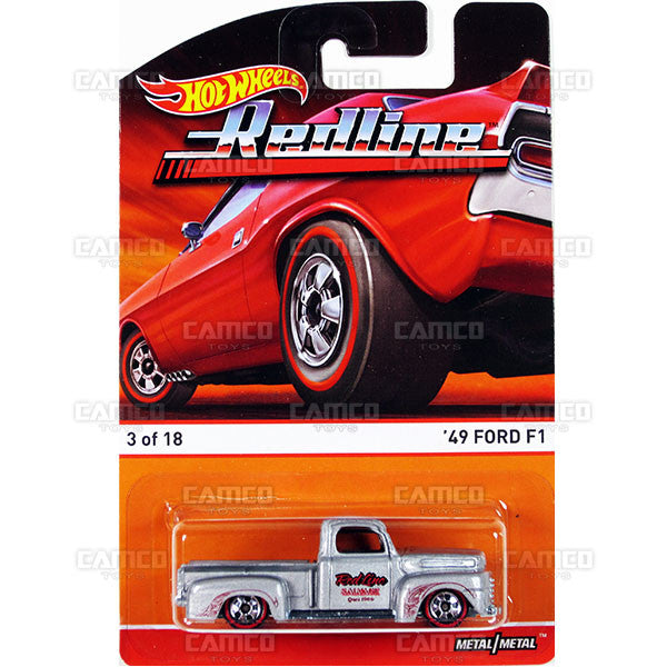 49 Ford F1 - 2015 Hot Wheels Heritage B Case (Redline) Assortment BDP91-956B by Mattel.