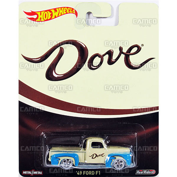 49 FORD F1 (Dove) - 2015 Hot Wheels Pop Culture B Case (MARS Candy) Assortment CFP34-956B by Mattel.