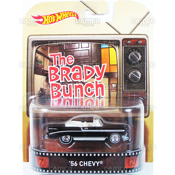 56 CHEVY (The Brady Bunch) - 2015 Hot Wheels Retro Entertainment J Case BDT77-996J by Mattel