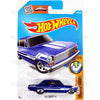 63 Chevy II #128 Blue (Muscle Mania) - from 2016 Hot Wheels Basic Case Worldwide Assortment C4982 by Mattel.