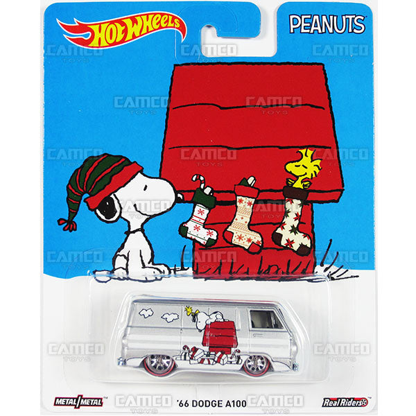 66 DODGE A100 (Snoopy's Christmas) - from 2016 Hot Wheels Pop Culture E Case (PEANUTS) Assortment DLB45-956E by Mattel.