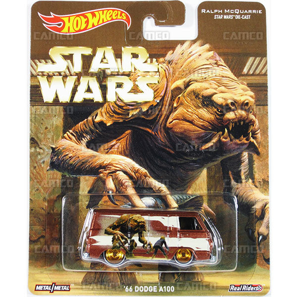 66 DODGE A100 (Ralph McQuarrie) - from 2016 Hot Wheels Pop Culture F Case (STAR WARS) Assortment DLB45-956F by Mattel.