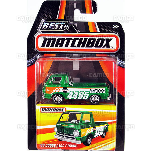 66 Dodge A100 Pickup - 2016 Matchbox (Best of Matchbox)