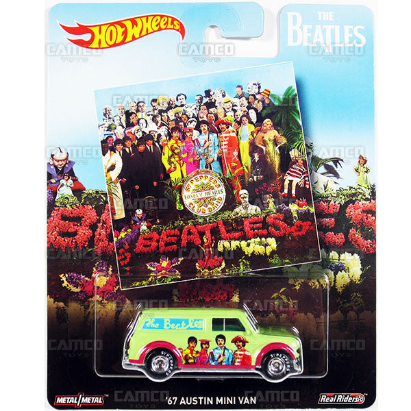 67 Austin Mini Van - 2017 Hot Wheels Pop Culture H Case (THE BEATLES) DLB45-956H