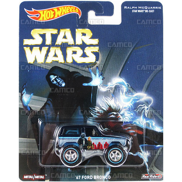 67 FORD BRONCO (Ralph McQuarrie) - from 2016 Hot Wheels Pop Culture F Case (STAR WARS) Assortment DLB45-956F by Mattel.