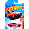 67 MUSTANG #20 red (Then and Now) - 2018 Hot Wheels Basic Mainline A Case Assortment C4982 by Mattel.
