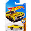 67 Pontiac GTO #359 yellow (Muscle Mania) - 2017 Hot Wheels Basic Mainline Q Case assortment C4982  by Mattel.
